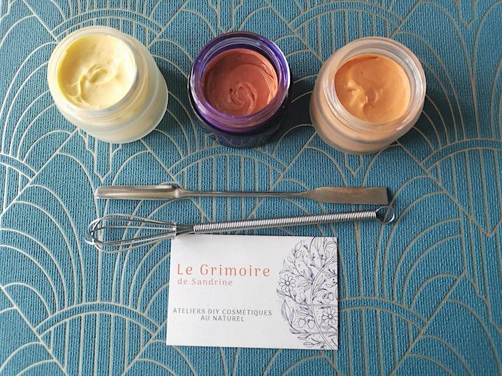 Image pour Atelier cosmétique  crème hydratante bonne mine