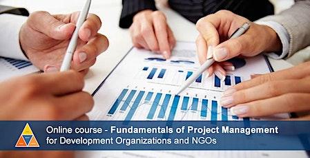 eCourse: Fundamentals of Project Management (August 2, 2021) biglietti