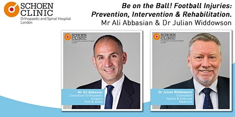 Be on the Ball! Football Injuries - Prevention, Intervention and Rehab tickets