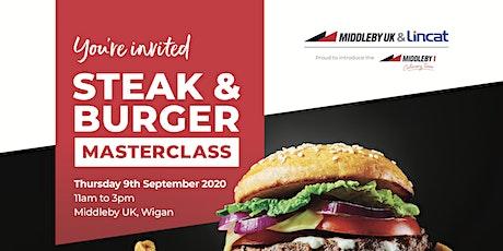 Middleby UK & Lincat's Steak & Burger Day tickets
