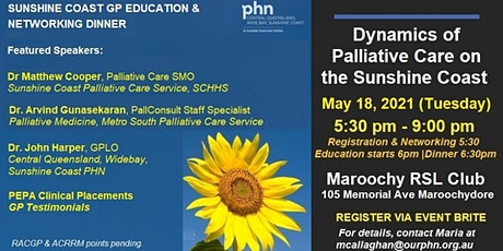 Dynamics of Palliative Care: A GP Education & Networking Dinner Event tickets
