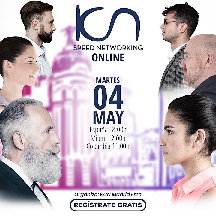 Imagen de KCN Madrid Este Speed Networking Online 4May
