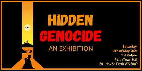 HIDDEN GENOCIDE - An Exhibition tickets