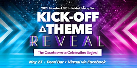 Pride Houston Kick-Off + Theme Reveal Party tickets