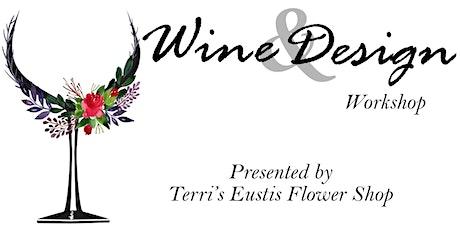 Wine & Design Workshop tickets