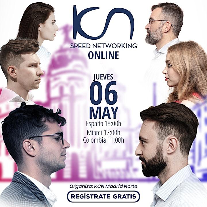 Imagen de KCN Madrid Norte Speed Networking Online 6May