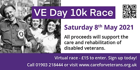 VE Day Virtual 10K tickets