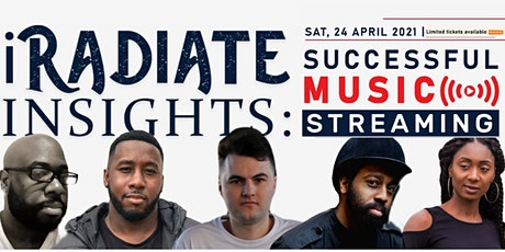 iRadiate Insights: Successful Music Streaming tickets