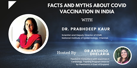 Facts and Myths about Covid Vaccination in India tickets
