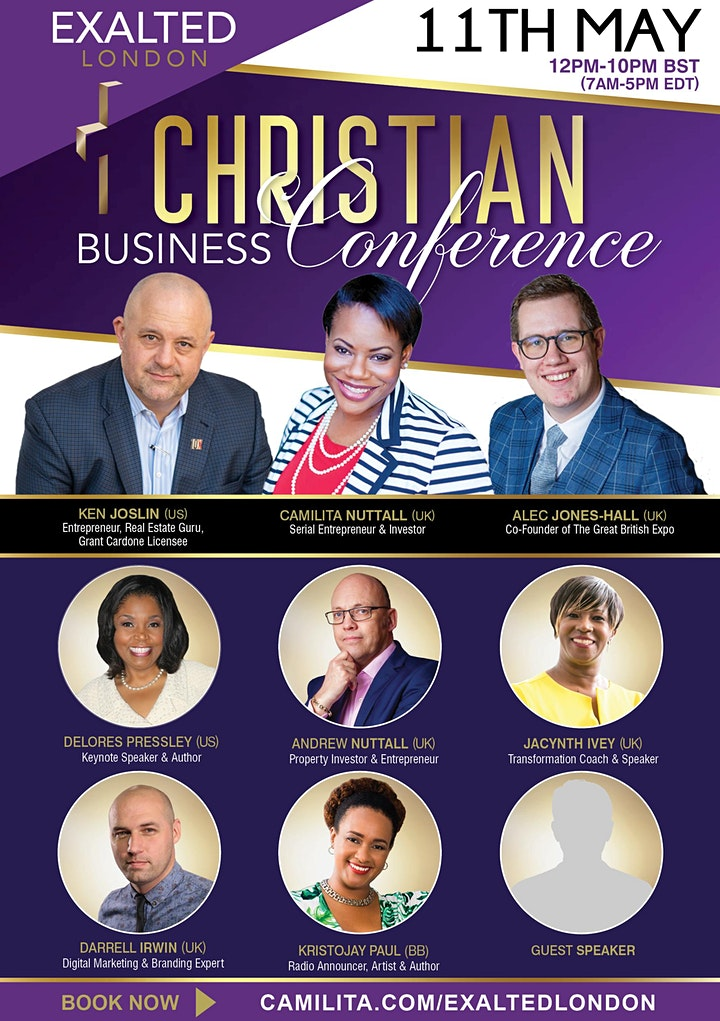 EXALTED LONDON Christian Business Conference image