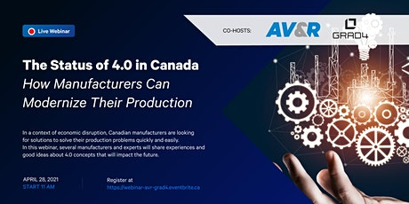 Status of 4.0 in Canada - How Manufacturers Can Modernize Their Production tickets