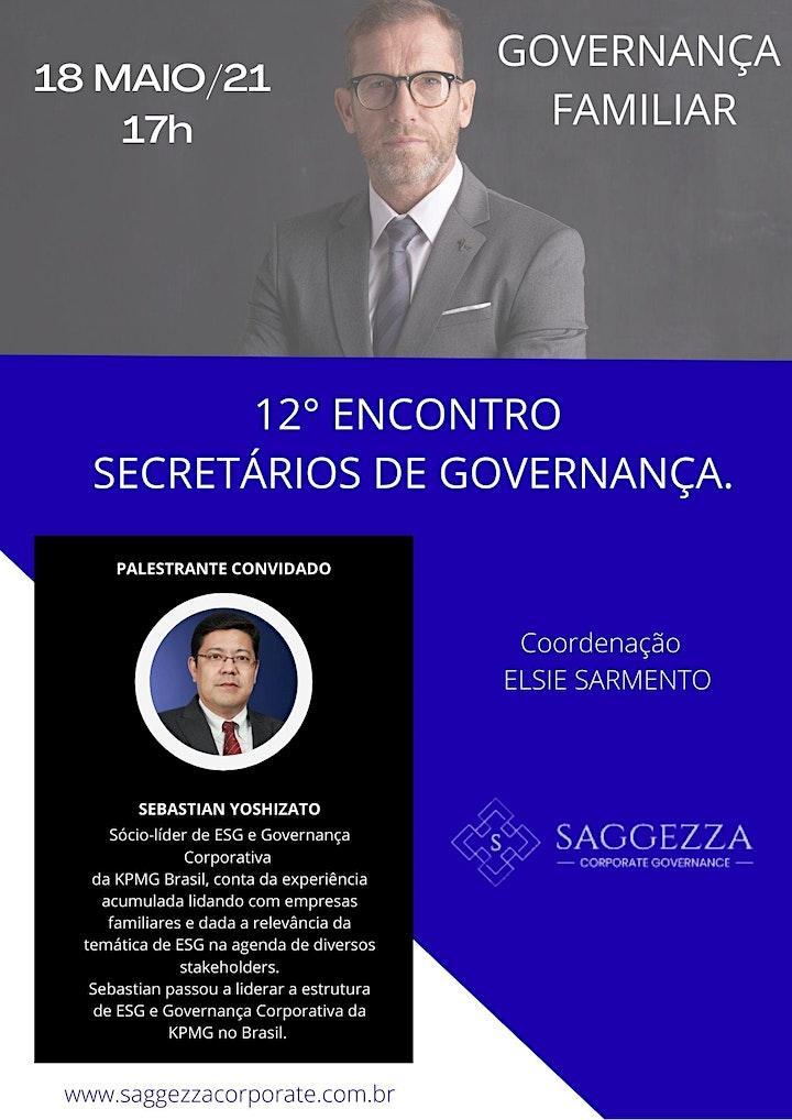 Imagem do evento 12° ENCONTRO DOS SECRETÁRIOS DE GOVERNANÇA
