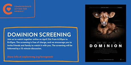 Film Screening: Dominion tickets