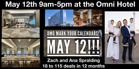 How to go  from 18 to 115 deals in 12 months- with Zach and Ana Spralding tickets