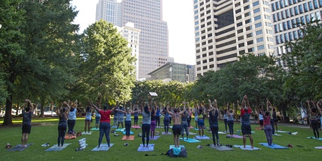 Free Yoga in Woodruff Park tickets