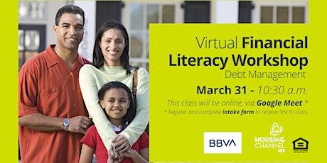 Housing Channel/BBVA Credit Scores & Reports Virtual Workshop tickets