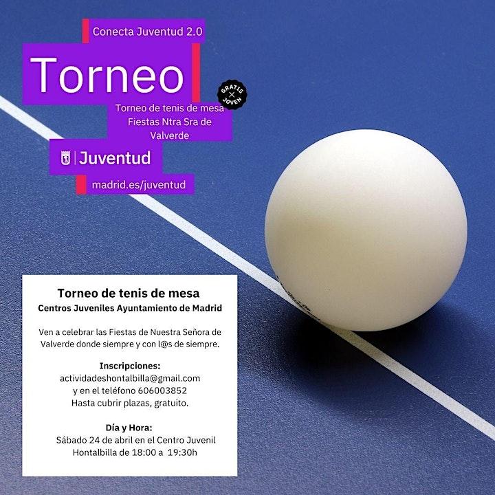 Imagen de Torneo de Ping pong Fiesta Ntra. Sra. De Valverde