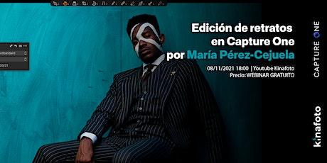 Edición de retratos en Capture One con María Pérez-Cejuela entradas