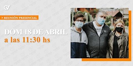 Reunión Presencial en Caudal de Vida-Domingo 18/4  11:30 hs. tickets