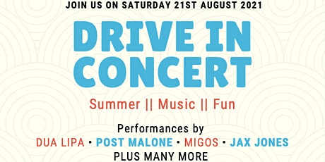 Drive in Concert tickets