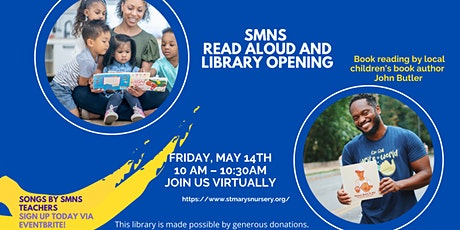 SMNS Read Aloud and Library Opening tickets