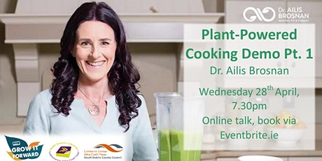 Plant-Powered Cookery Demonstration Part 1 tickets