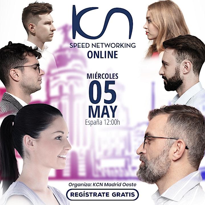 Imagen de KCN Madrid Oeste Speed Networking Online 5May