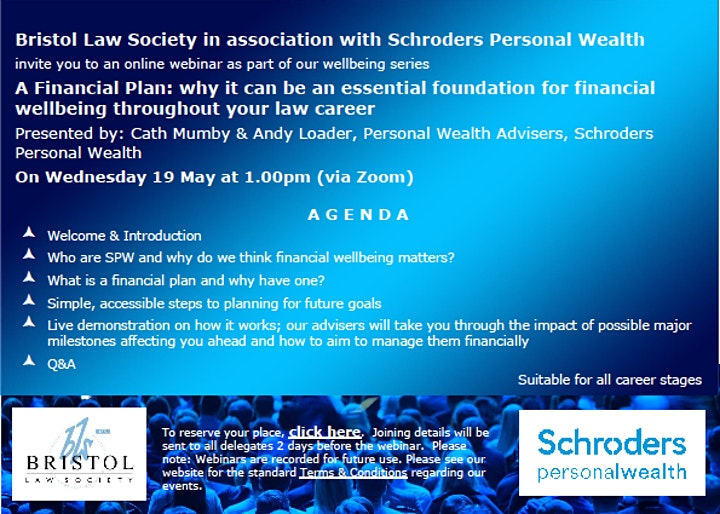 Financial Plan: Essential foundation for financial wellbeing in law career image