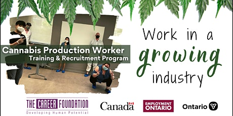 Cannabis Production Worker Training Program Information Session tickets