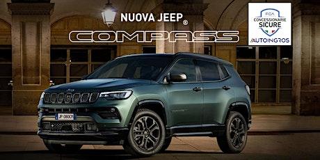 Porte Aperte Nuova Jeep Compass biglietti