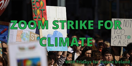 Zoom Strike for Climate tickets