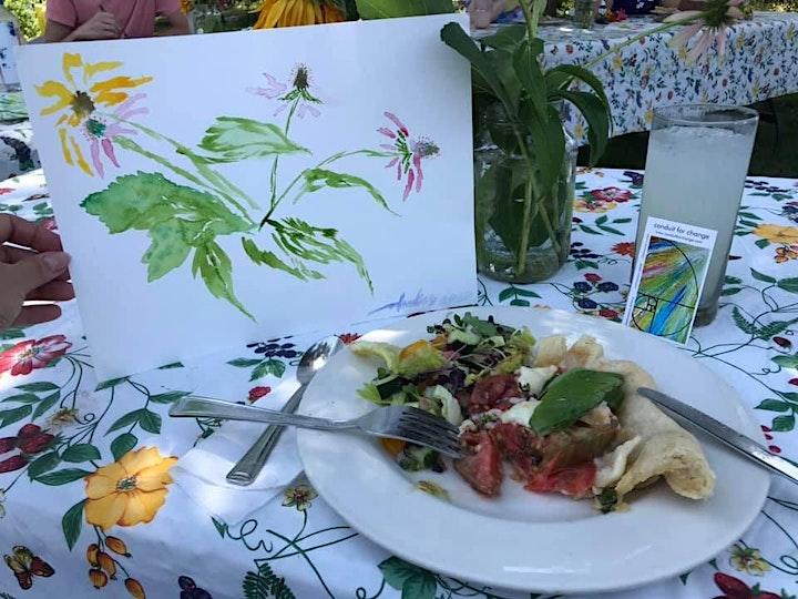 Art in the Garden Dinner Party image