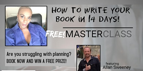 How to write a book in 14 days tickets