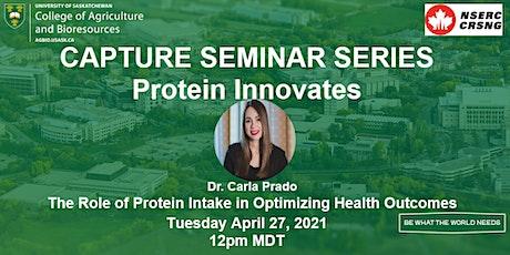 CAPTURE Seminar Series: Protein Innovates #3 tickets