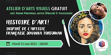 Histoire d'art! - Atelier d'arts visuels billets