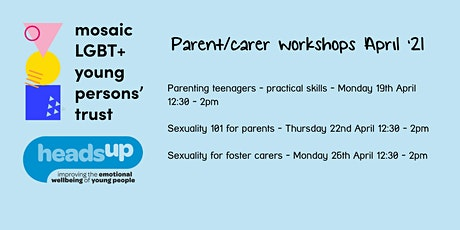 Sexuality for foster carers with Mosaic LGBT+ Young Persons' Trust tickets