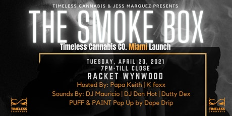 Timeless Cannabis CO Miami 420 Launch & Puff N Paint Series tickets