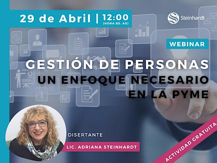 Imagen de WEBINAR | Gestión de Personas: un enfoque necesario en la PyME