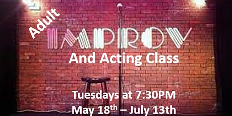 Adult Improv / Acting Class tickets