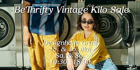 BeThrifty Vintage Kilo Sale | Designhalle Graz Tickets