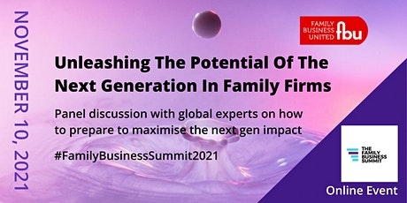 Unleashing The Potential Of The Next Generation In Family Firms tickets
