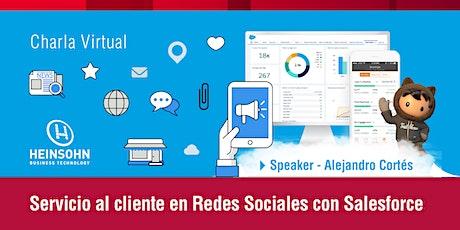 Servicio al cliente en redes sociales con Salesforce entradas
