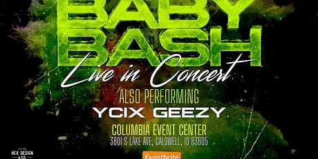 BABY BASH LIVE IN CONCERT tickets