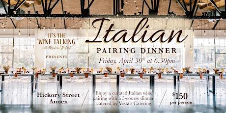 Italian Pairing Dinner tickets