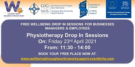Physiotherapy Drop In Sessions tickets