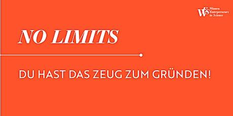 NO LIMITS - Entdecke deine Schlüsselqualifikationen Tickets