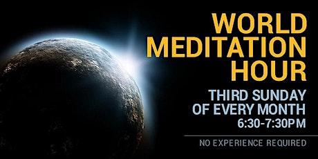 World Meditation Hour -  Online Event tickets