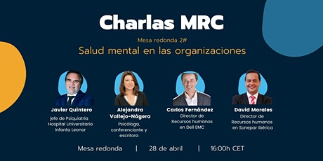 Mesa redonda: Salud mental en las organizaciones entradas