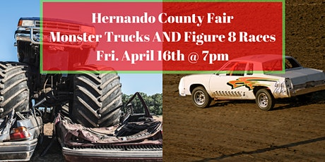 Monster trucks AND Figure 8 Races tickets