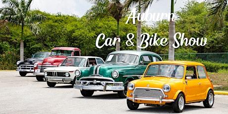 Auburn Car & Bike Show tickets